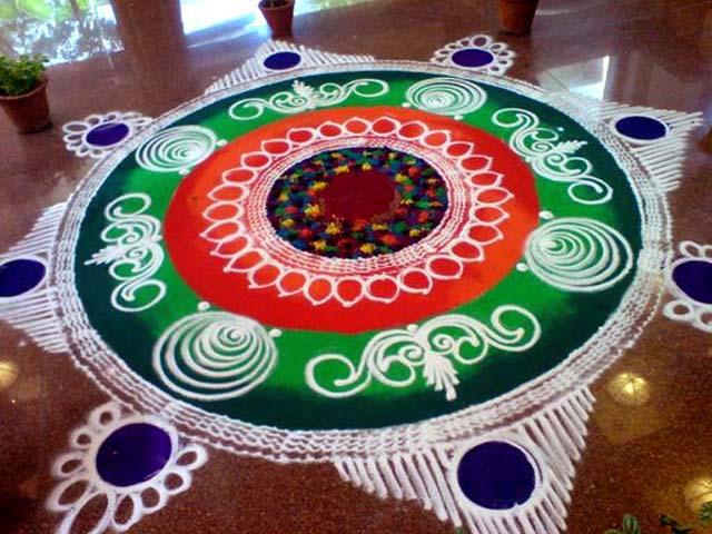sanskar rangoli design by nitumanwar -  5