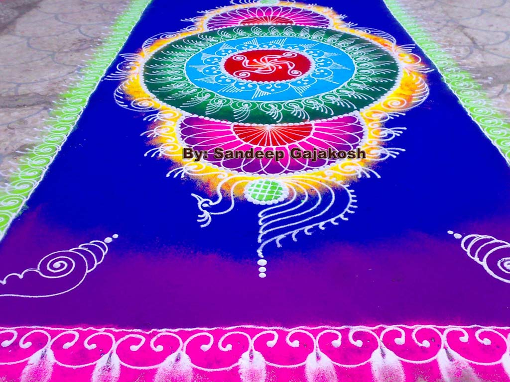 sanskar rangoli design by sandeep gajakhosh -  7