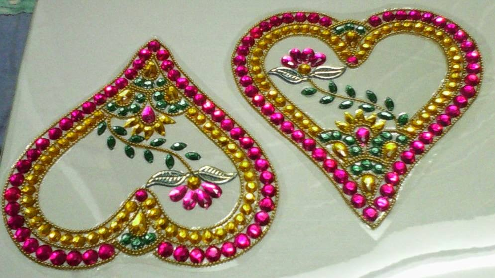 1 kundan design by nimisha