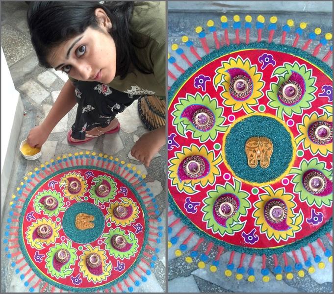 rangoli pattern design