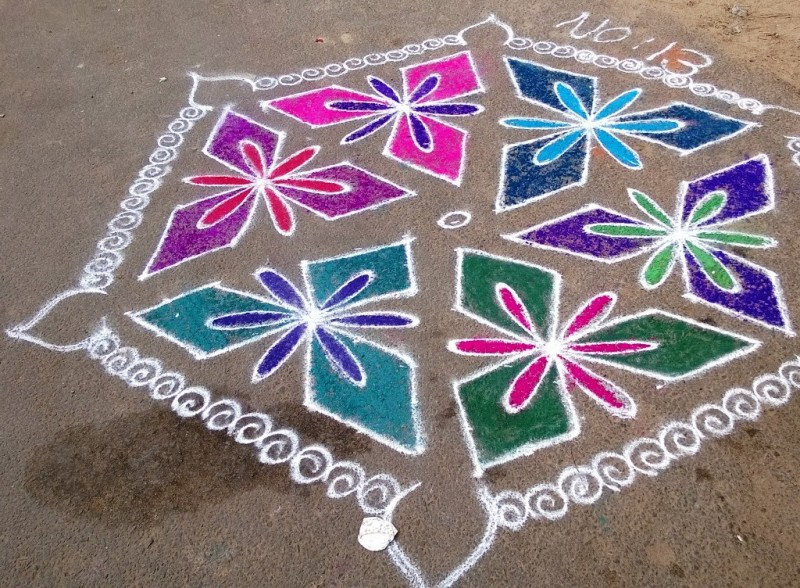 10 kolam design by kamala corner