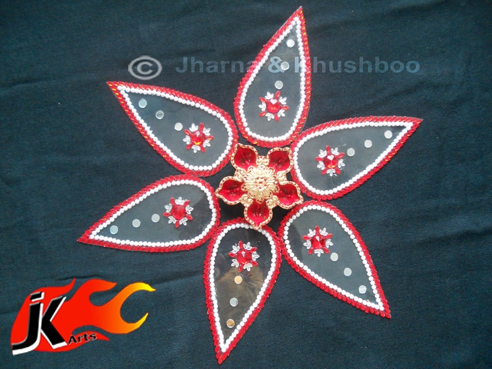 10 kundan rangoli design by jk arts