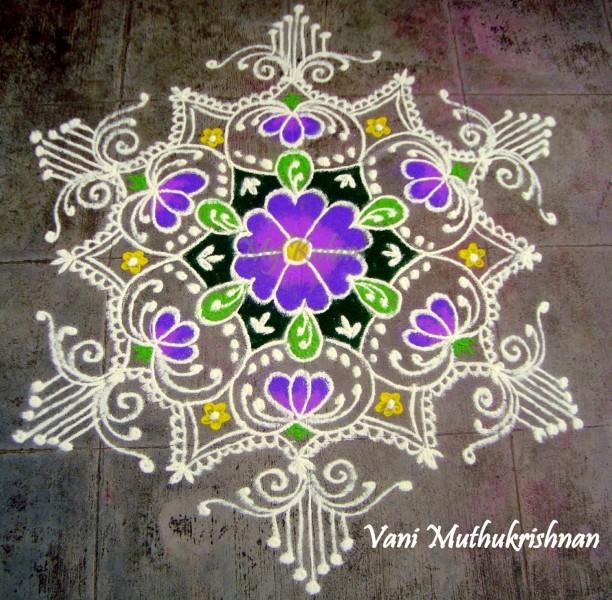11 rangoli design by vani muthukrishnan