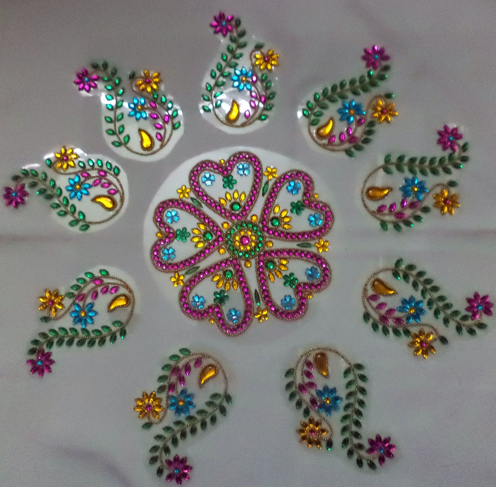 12 kundan design by nimisha