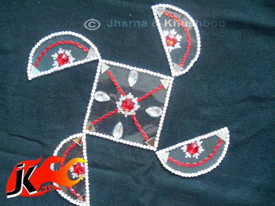 13 kundan rangoli design by jk arts