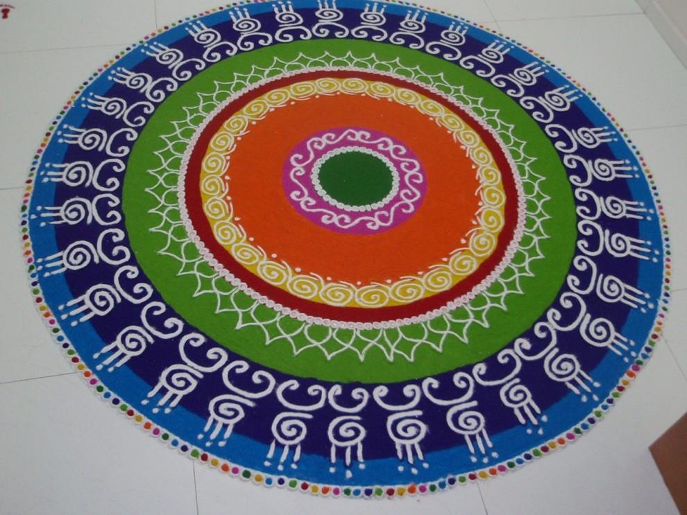 13 rangoli design by keshav pai