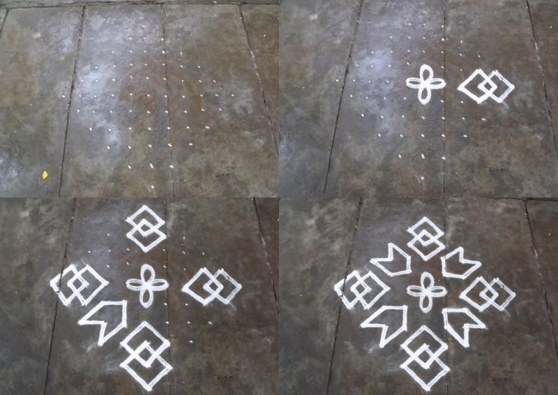 14 nrangoli design by rathna