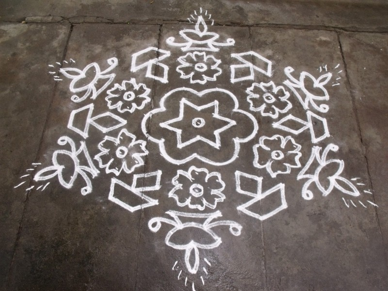 15 rangoli design by sudha balaji