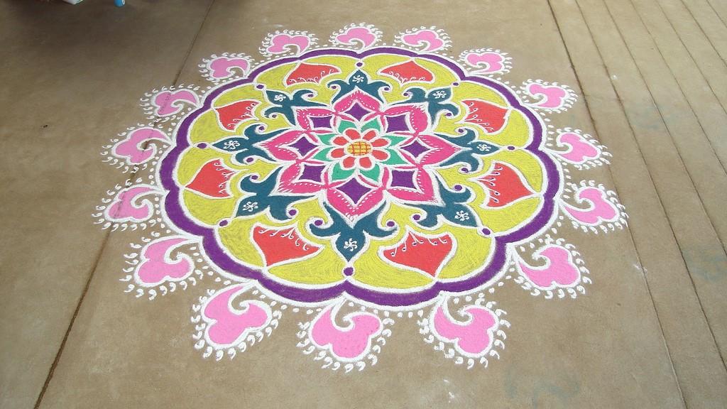 16 rangoli design by keshav pai