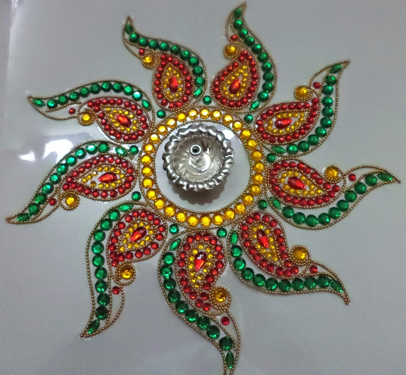 2 kundan design by nimisha