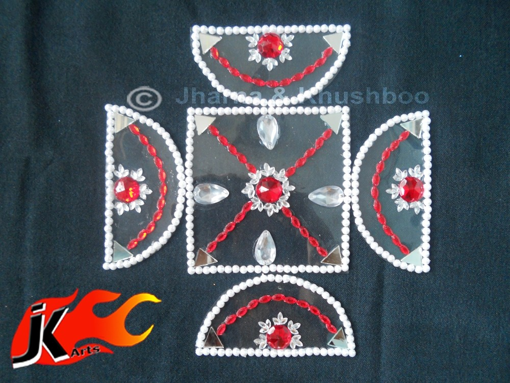 21 kundan rangoli design by jk arts