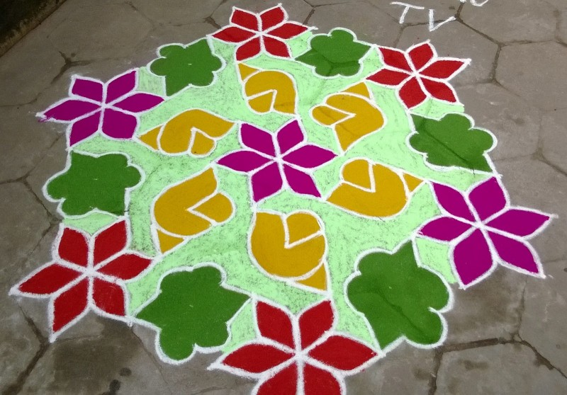 22 kolam design by kamala corner