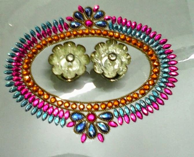 4 kundan design by nimisha