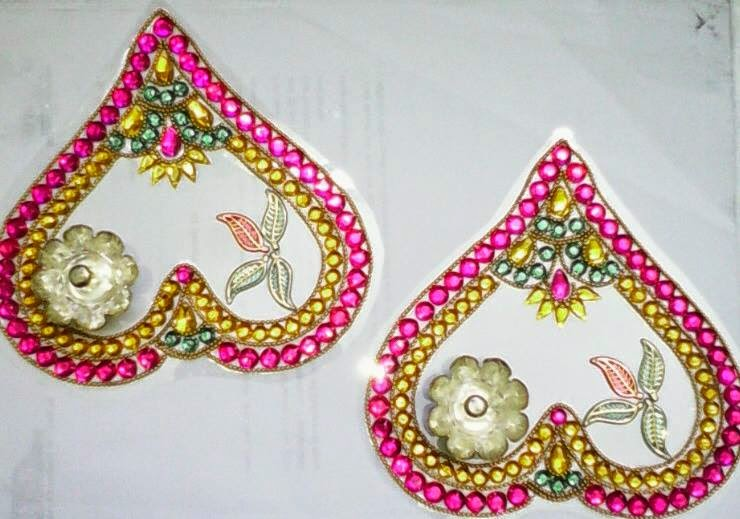 5 kundan design by nimisha