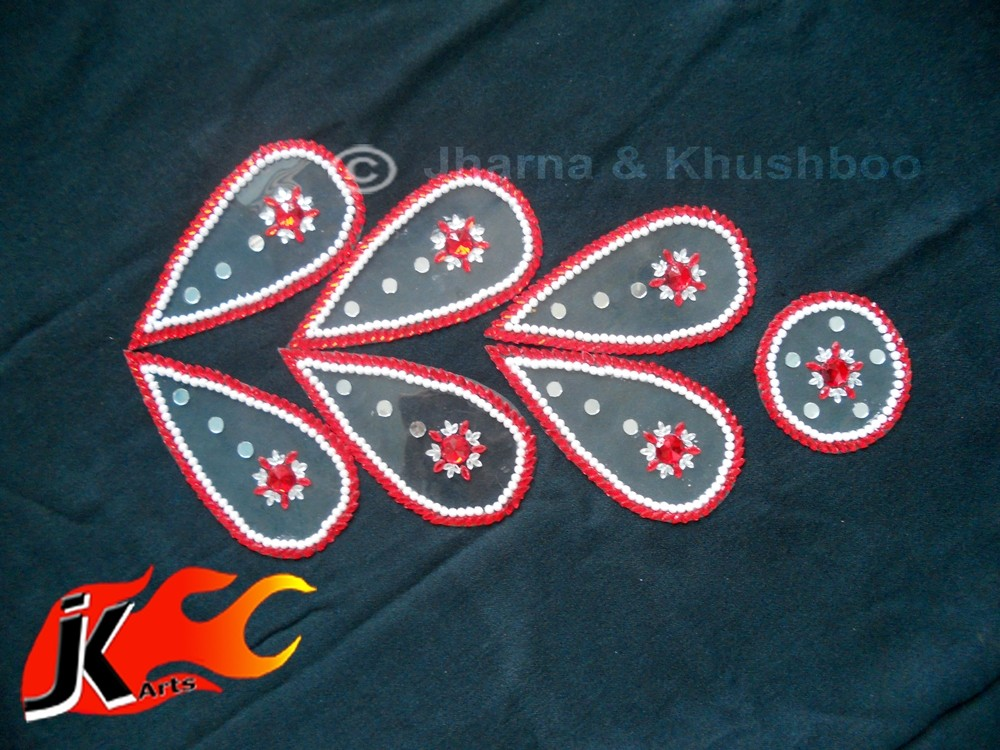 5 kundan rangoli design by jk arts