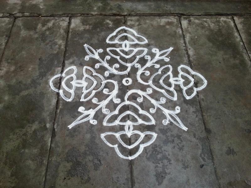 5 rangoli design by rathna