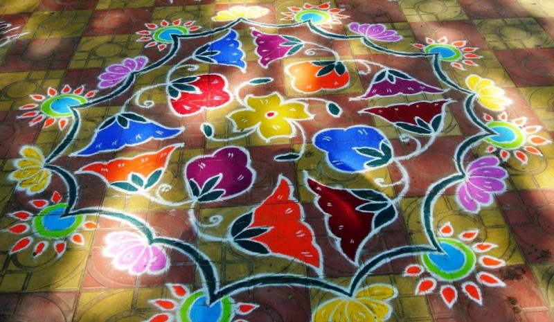 6 kolam design by kamala corner