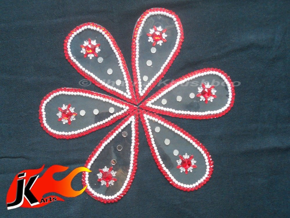 6  kundan rangoli design by jk arts