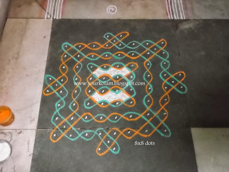 6 rangoli design by vijaya sharadha