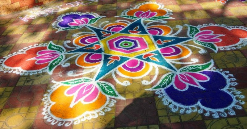 7 kolam design by kamala corner