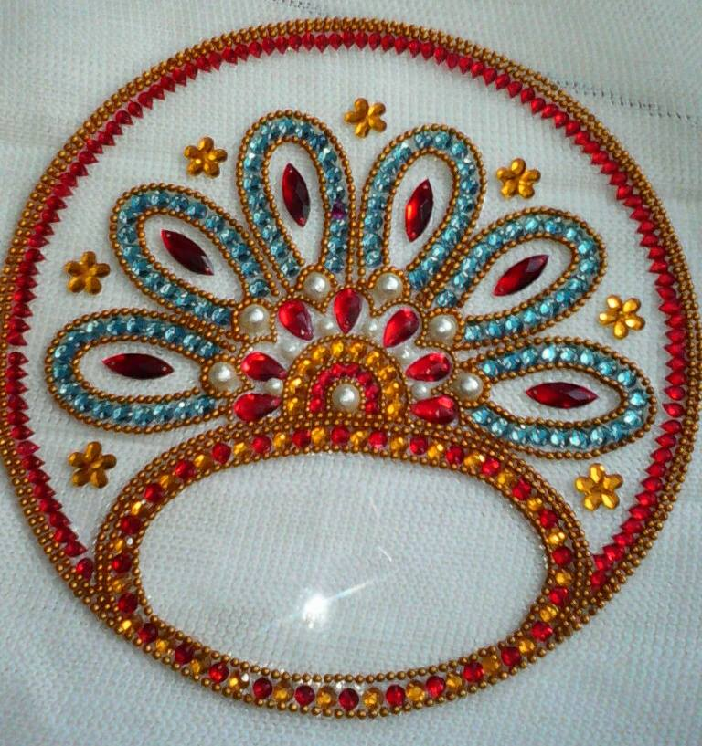 8 kundan design by nimisha