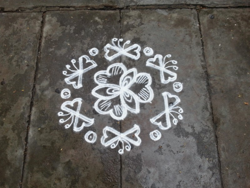 8 rangoli design by rathna