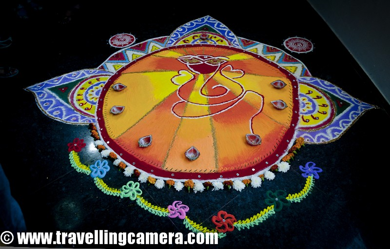 8 rangoli design by vj sharma