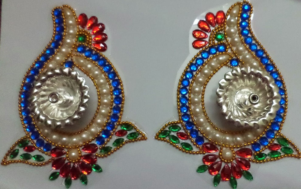 9 kundan design by nimisha