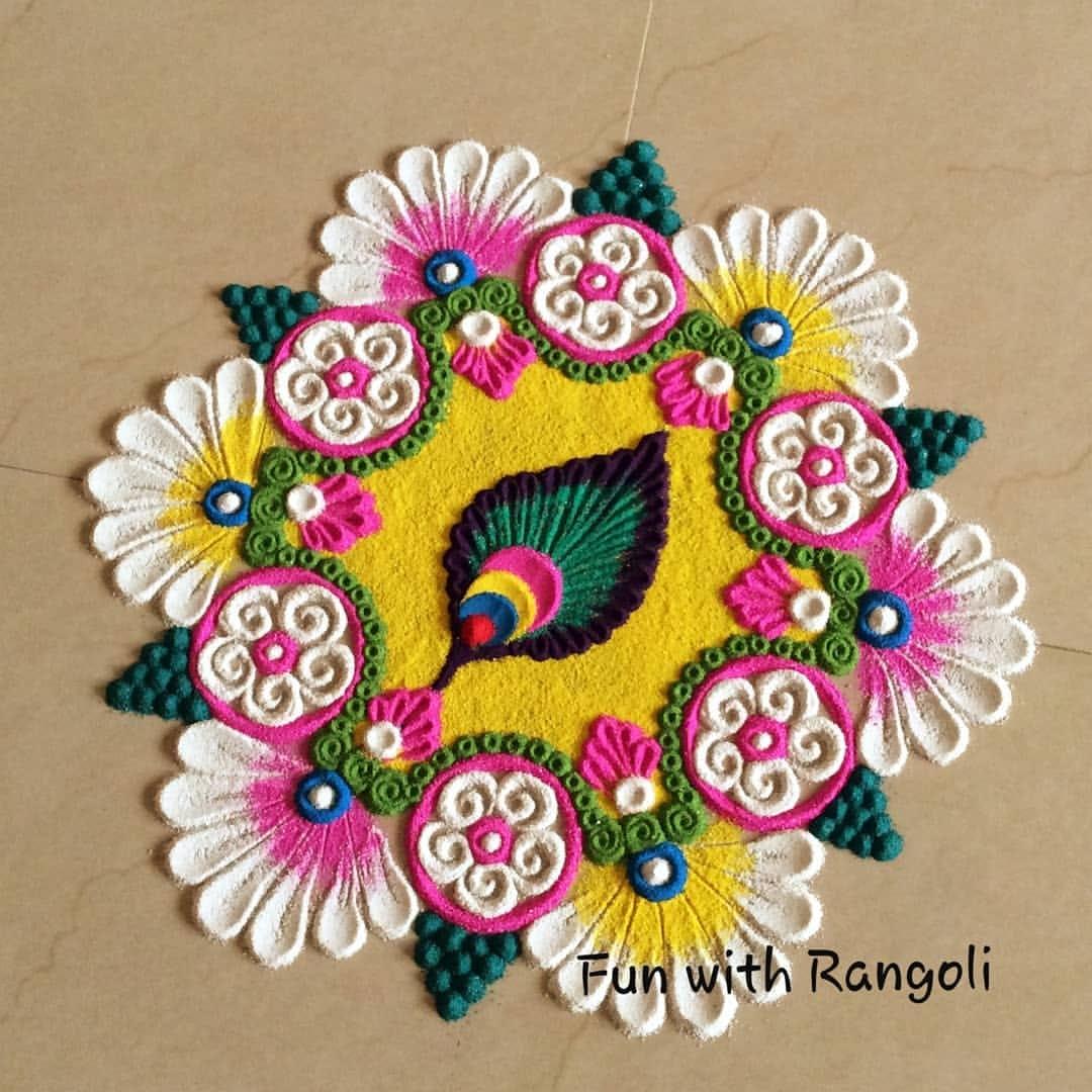 flower design by renu agarwal