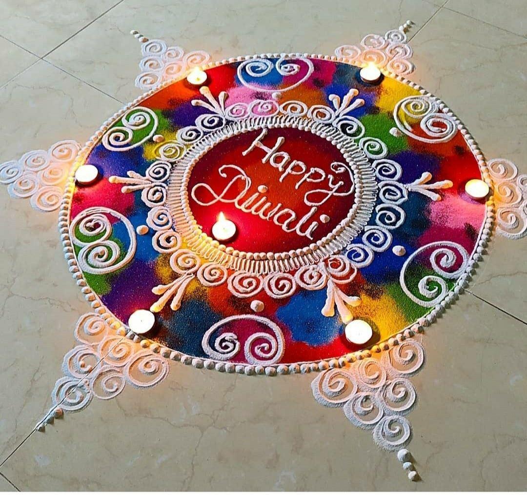 sanskar bharti mandala rangoli design diwali
