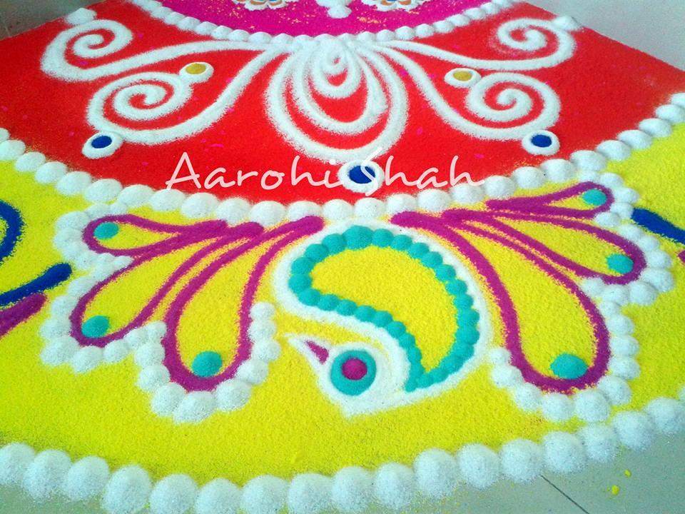 rangoli by aarohi shah
