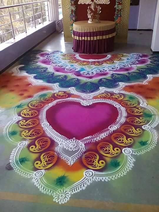 rangoli design by rohit