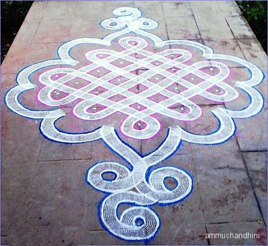 9 sikku kolam by ammuchandhini